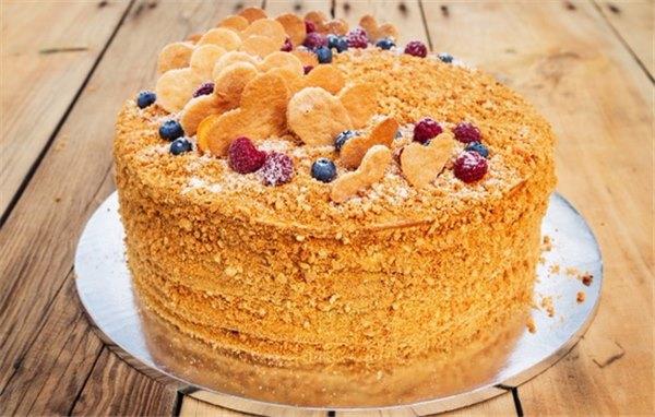 Простой торт на кефире: рецепты выпечки на любой вкус