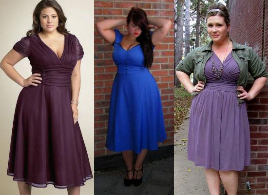 Какие фасоны платьев скрывают живот?