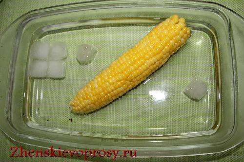 Как заморозить кукурузу?
