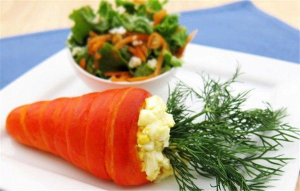 Салат из моркови и яиц – сочетание вкуса и пользы