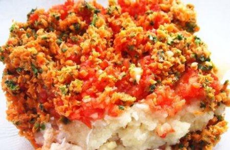 Рыбно-овощные оладьи