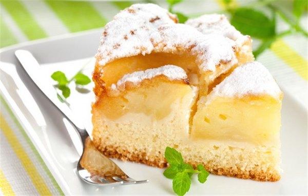 Домашняя сдоба – всегда особа: пироги на кефире с яблоками