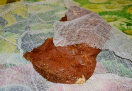Сыровяленый балык из индейки