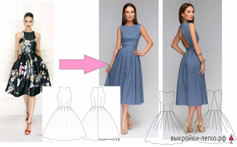 Как сшить платье новичку: мастер-класс…