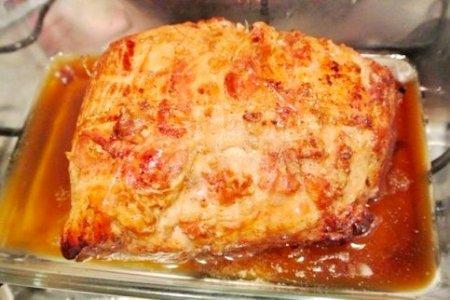 Запеченное мясо по-итальянски