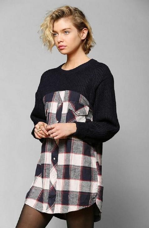 Стильные обновки из старых свитеров — творческие переделки…