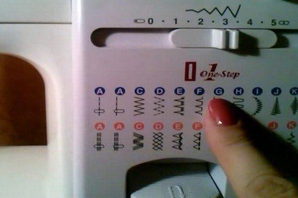 Шпаргалка-обозначение строчек на швейных машинах…