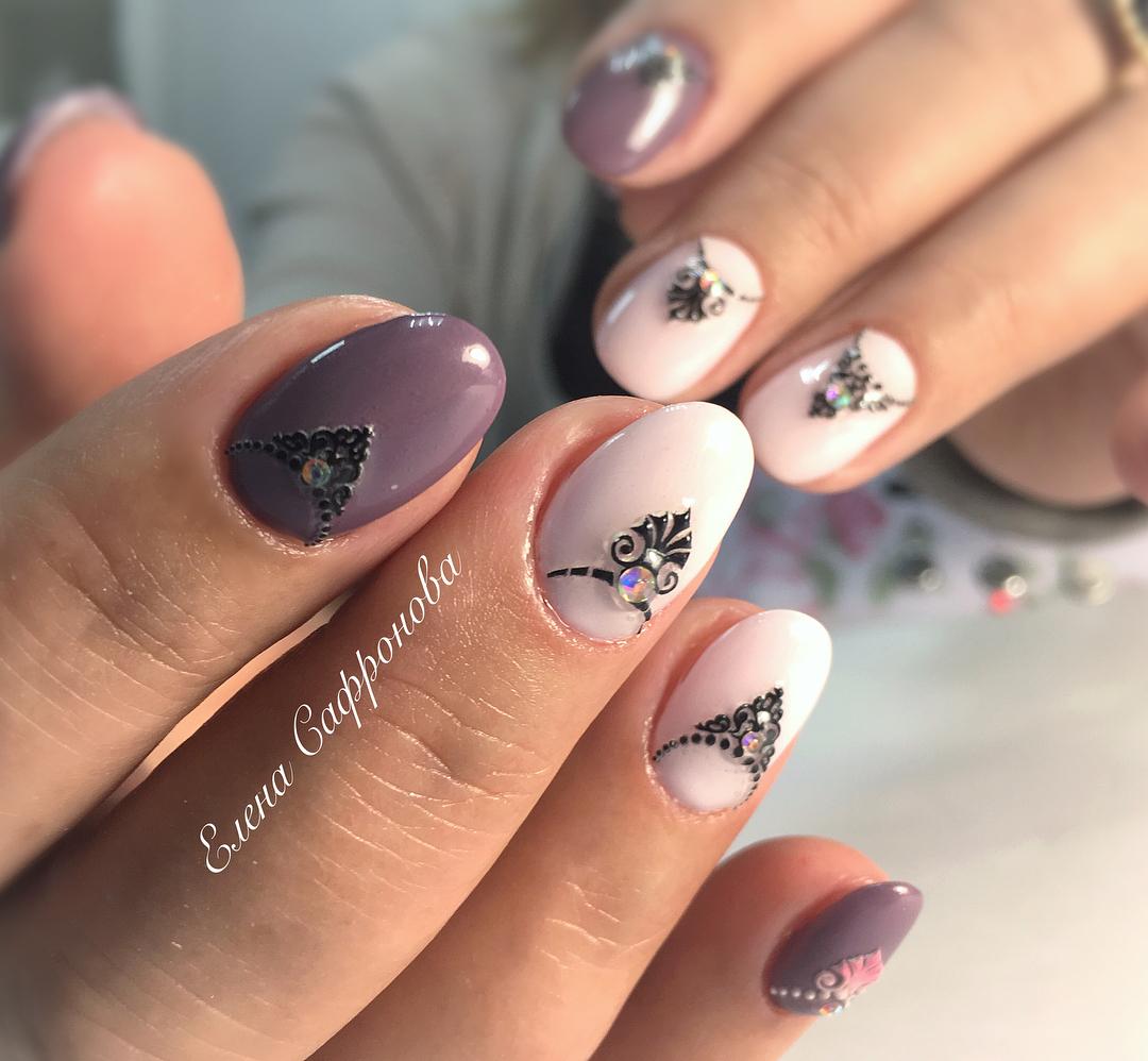 Хит 2018 года: 30 элегантных идей маникюра в пастельных тонах для острых ногтей