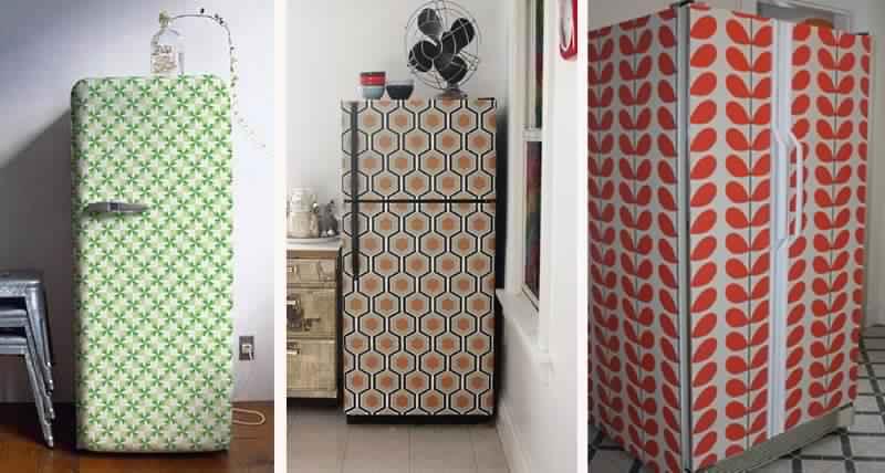 Несколько потрясающих идей как украсить холодильник своими руками