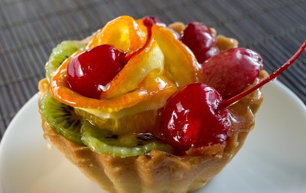 Тарталетки с фруктами: пошаговый рецепт с фото