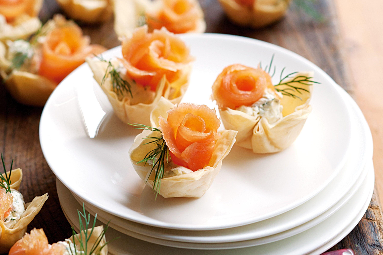 Тарталетки с сливочным сыром: пошаговый рецепт с фото