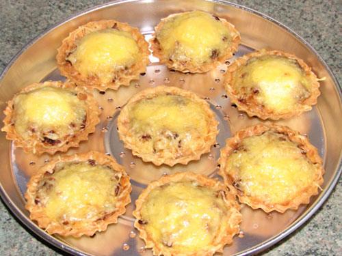 Тарталетки в духовке: пошаговый рецепт с фото