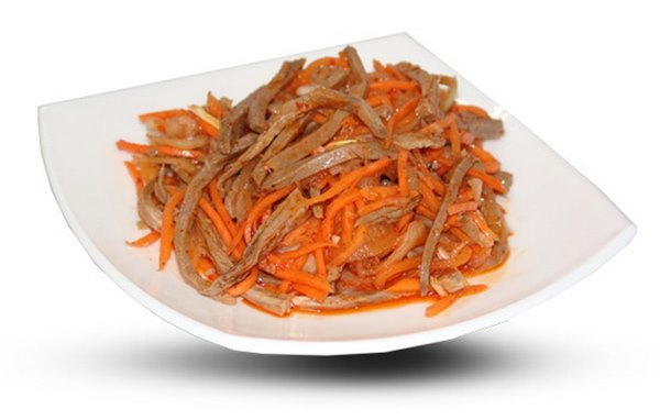 Салаты из моркови с мясом – такие разные, такие вкусные, такие полезные