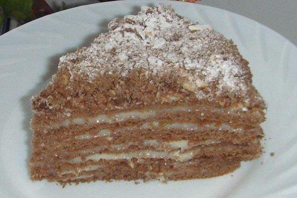 Интересный и вкусный торт -Пчёлка- — пальчики оближешь!