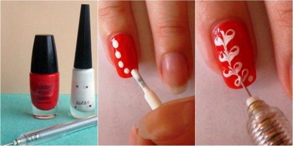 Варианты простых дизайнов ногтей для начинающих, с фото