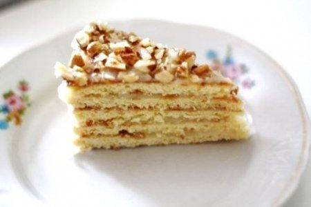 Торт на сковороде.