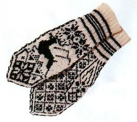 Традиции вязания, или История знаменитых узорных варежек…