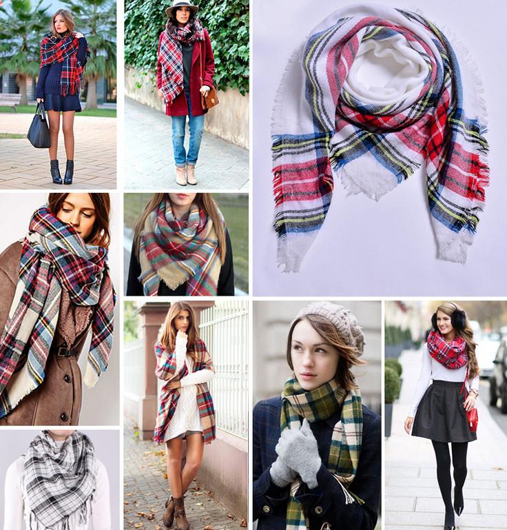 Пора завязывать: как носить шарф, платок, тюрбан, снуд, палантин, косынку. Для осени и для зимы!