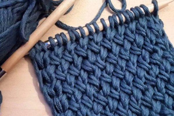 Вяжем спицами: узор «Плетенка». Узор плотный, подойдет для вязания снудов, кардиганов, пальто…