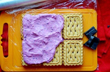 Десерт из печенья
