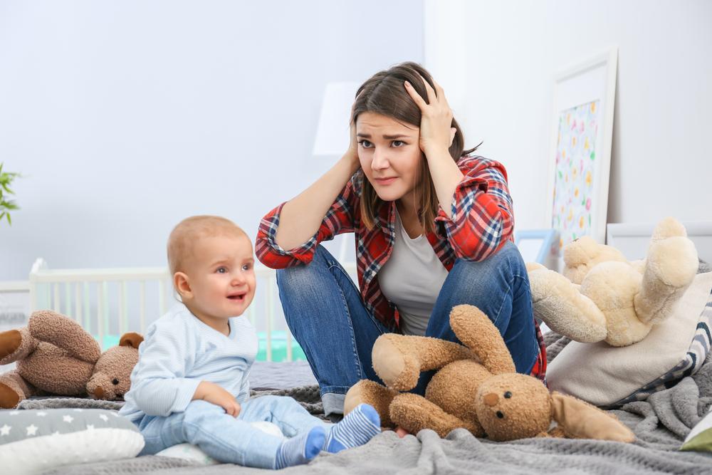 Послеродовая депрессия у женщин и мужчин