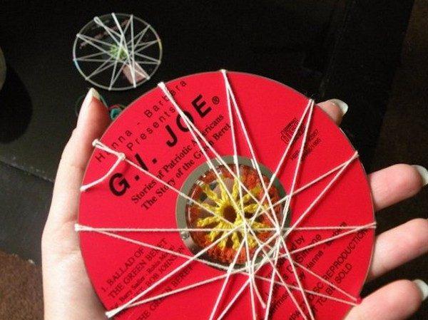 Идеи использования старых СD-дисков