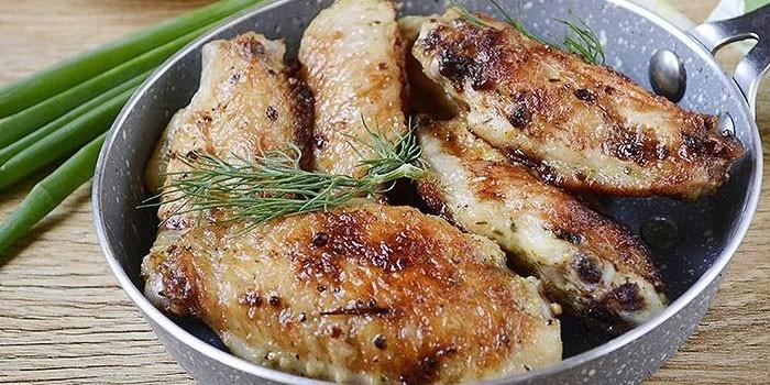 Маринад для крылышек на мангале - пошаговые рецепты приготовления