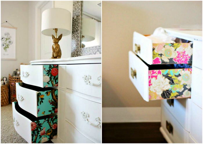Куда и как использовать остатки обоев, чтобы им годами не пылиться без дела в шкафах