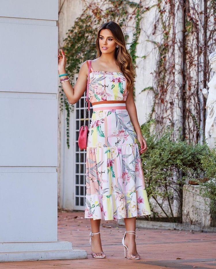 Идеи легких и элегантных повседневных платьев на сезон весна-лето