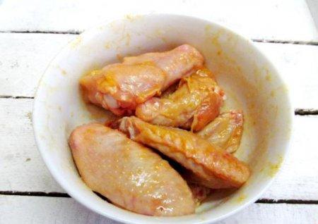 Перловка с куриными крыльями