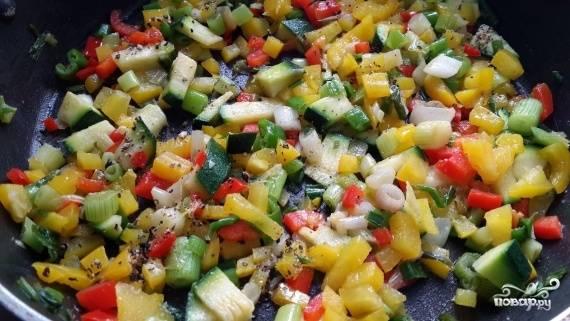 Фриттата с овощами — пошаговый рецепт