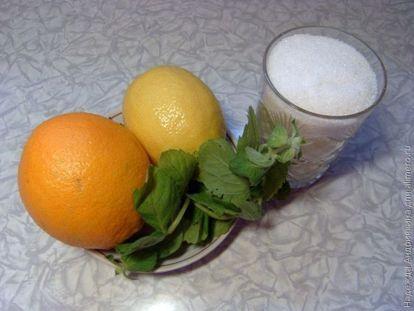 Лимонад из цитрусовых с мятой, рецепты с фото