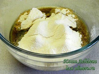 Постный кекс с орехами и черносливом, рецепты с фото