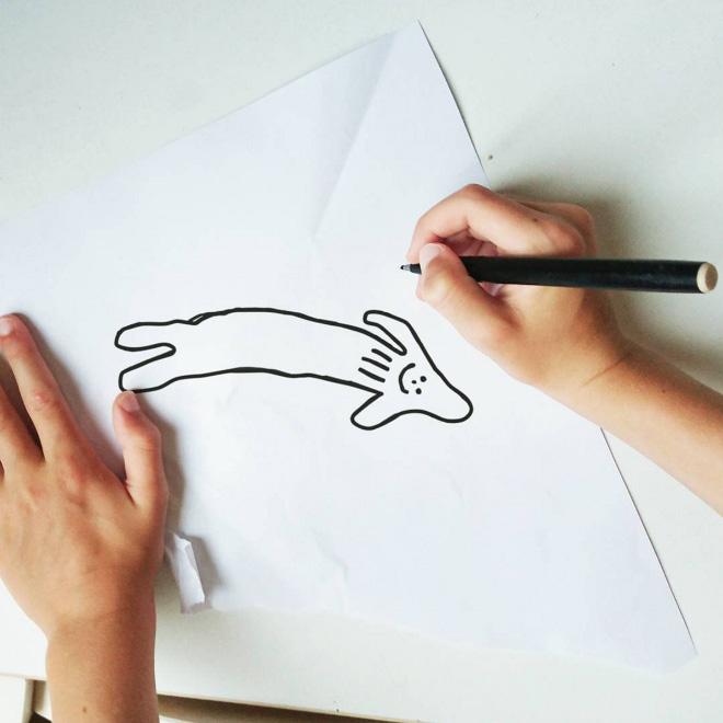 Фантастические животные и места, где они обитают: папа оживляет рисунки шестилетнего сына