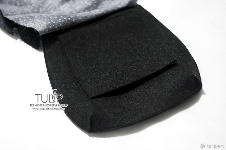 Шьем весеннюю сумку с имитацией вышивки