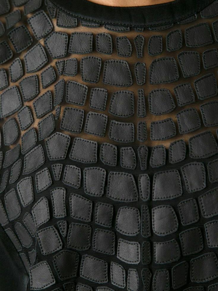 Декор из кожи (подборка)