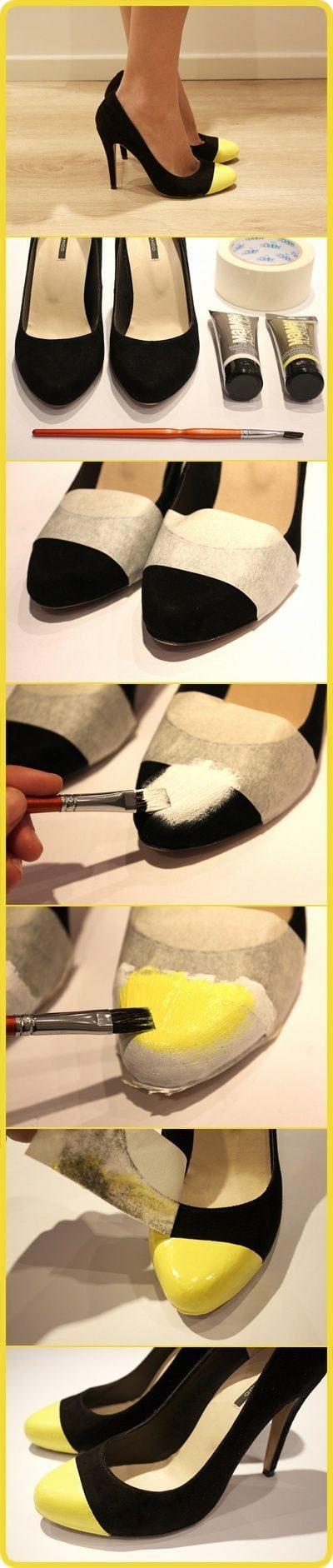 Креативные идеи переделки обуви