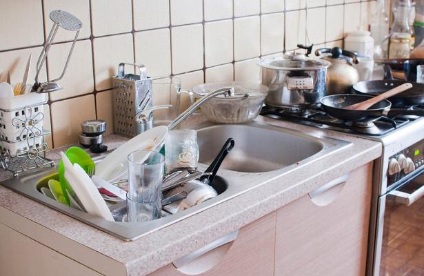 Как грязная кухня портит фигуру