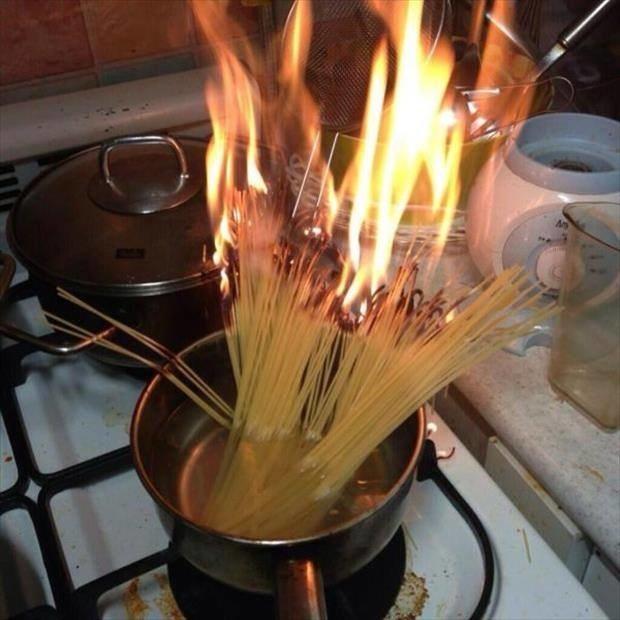 17 картинок про тех, кто не умеет готовить. Совсем