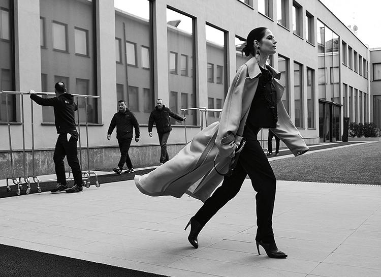 Как Юлия Снигирь дала моде второй шанс: интервью с актрисой