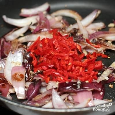 Чили из черной фасоли и баклажан — пошаговый рецепт