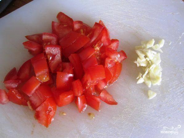 Цуккини, фаршированный томатом и стручковой фасолью — пошаговый рецепт