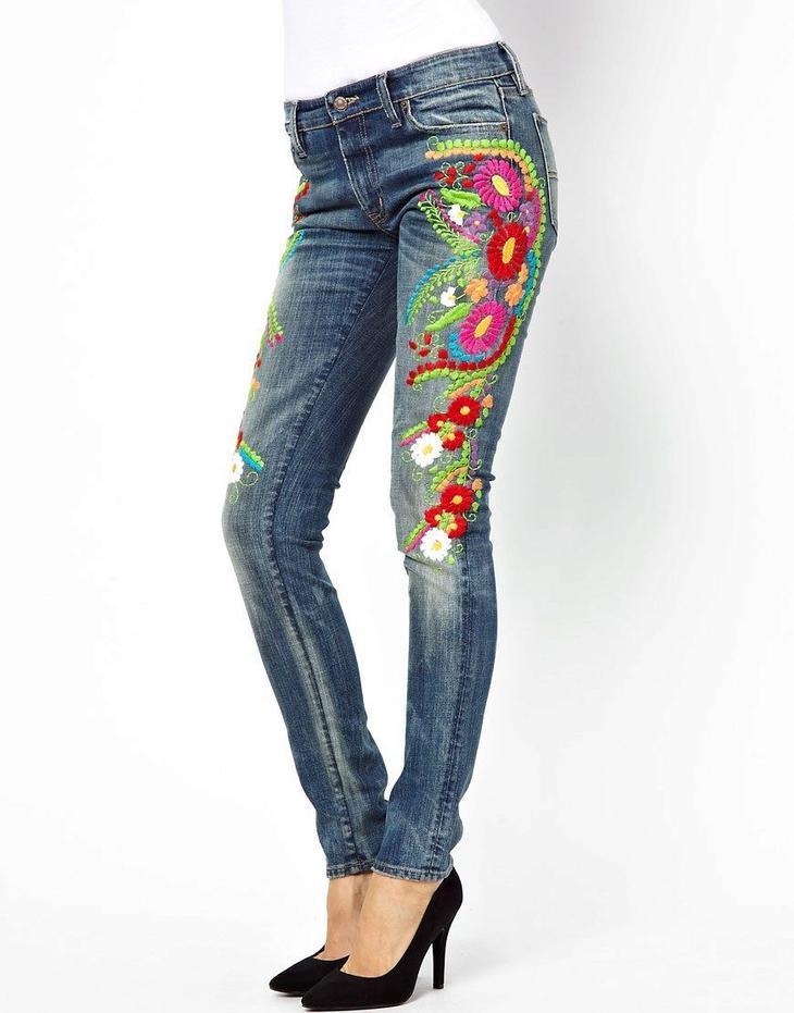 Как украсить джинсы своими руками: идеи, советы, фото