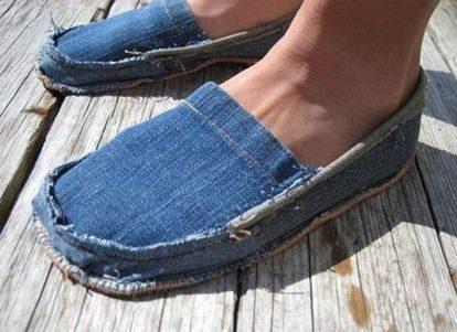 Интересные поделки из джинса
