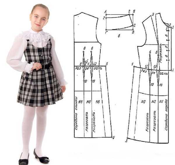 Как сшить детский сарафан: выбор фасона, построение схемы, пошаговый процесс