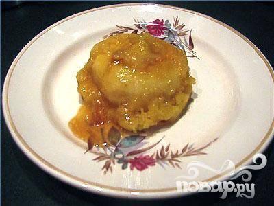 Яблочные — пуфики — пошаговый рецепт