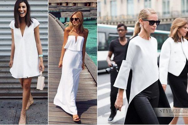 Тренд: Белые вещи в летнем сезоне