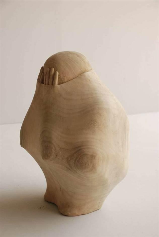 Тайваньский скульптор вырезает людские души из дерева ( 17 фото )