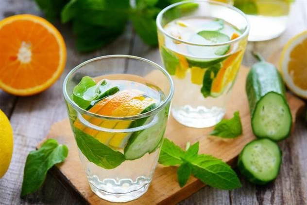 Полезные напитки, которые заменят вредную газировку ( 9 фото )