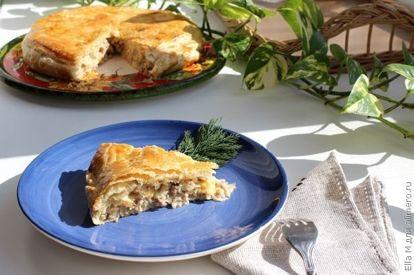 Пирог с мясом и сыром, рецепты с фото